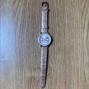 Aeropostale Sparkling, Glittery, Rose Gold Watch